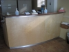 Curved Birch Reception Counter
