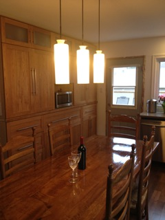 Solid panel Cherry Shaker Kitchen 2 of 2