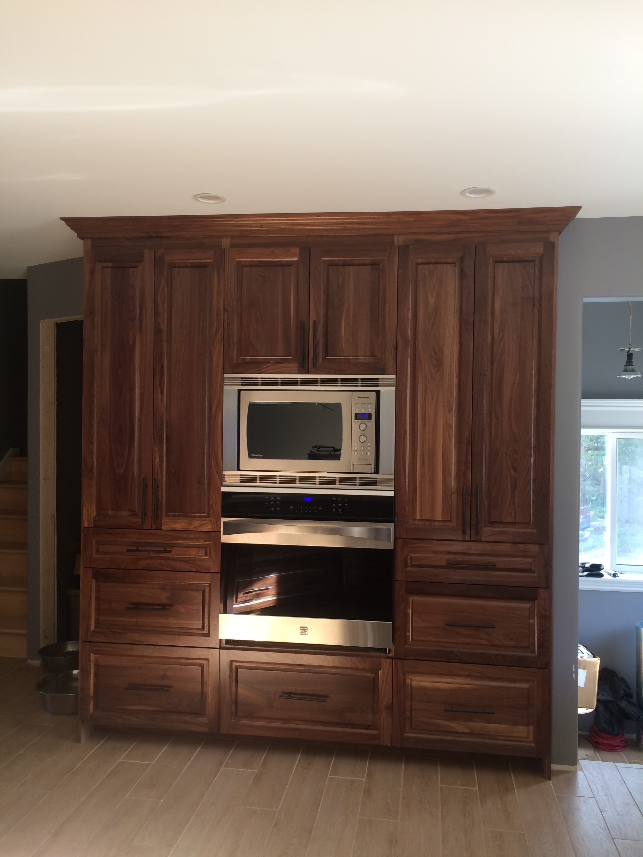 Oven Unit Pantry Wall