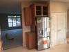 Shaker Cherry Kitchen - Fridge Wall