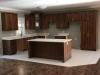 Walnut Kitchen with Quartz Tops