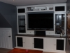 White PVC Entertainment Center